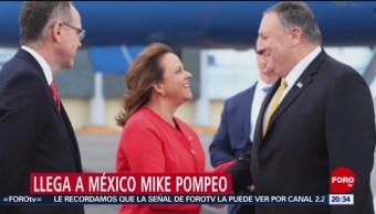 FOTO: Mike Pompeo llega a México; mañana se reunirá con Ebrard, 20 Julio 2019
