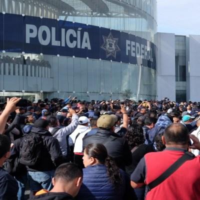 AMLO: Está establecido en la ley que en 18 meses desaparecerá la Policía Federal