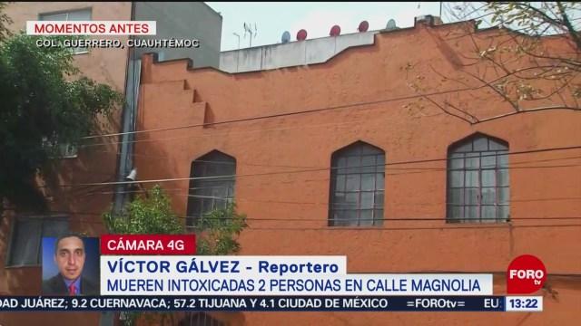 FOTO: Mueren intoxicadas 2 personas en la alcaldía Cuauhtémoc, CDMX, 20 Julio 2019