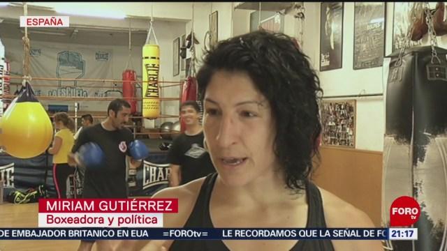 FOTO: Mujer maltratada se convierte en una gran boxeadora, 13 Julio 2019