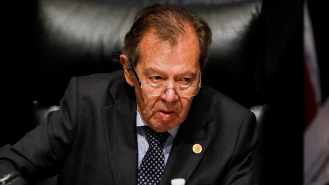 Foto: El legislador Porfirio Muñoz Ledo, del partido Morena, en la Ciudad de México, México, julio 13 de 2019 (Reuters)