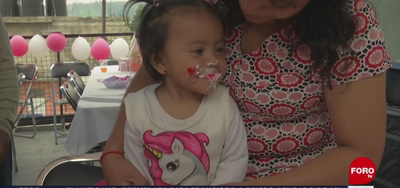 Nancy Tirzo cumple un año junto a su familia; fue secuestrada hace meses