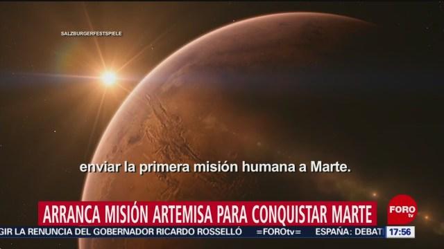NASA anuncia arranque de Misión Artemisa
