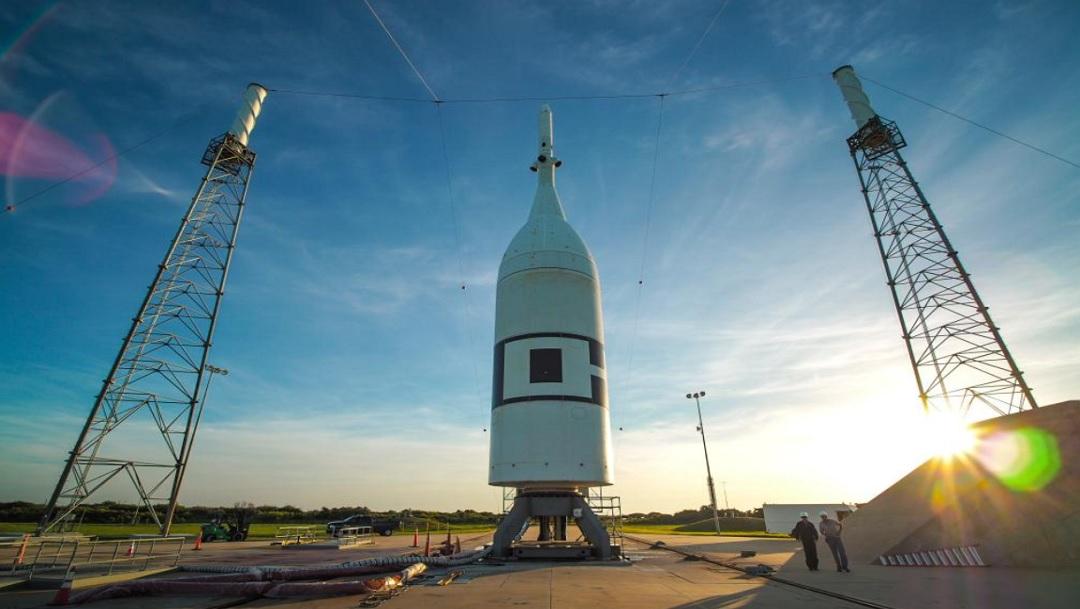 NASA probará el sistema de emergencia de la cápsula Orión