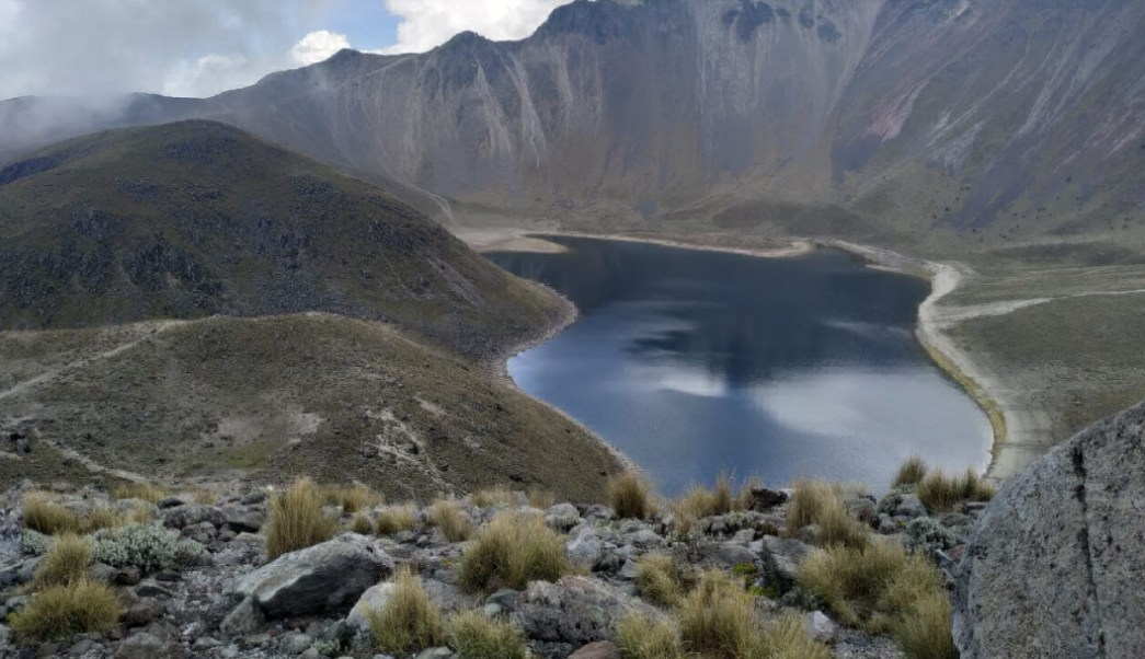Nevado de Toluca en la Faja Volcánica TransMexicana
