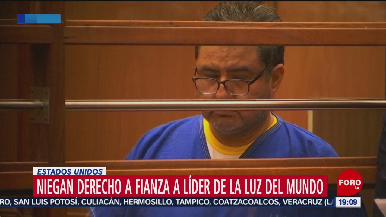 Foto: Niegan Libertad Bajo Fianza Naasón Joaquín García 16 Julio 2019