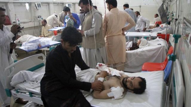 FOTO Niño suicida detona bomba durante boda en Afganistán (AP)