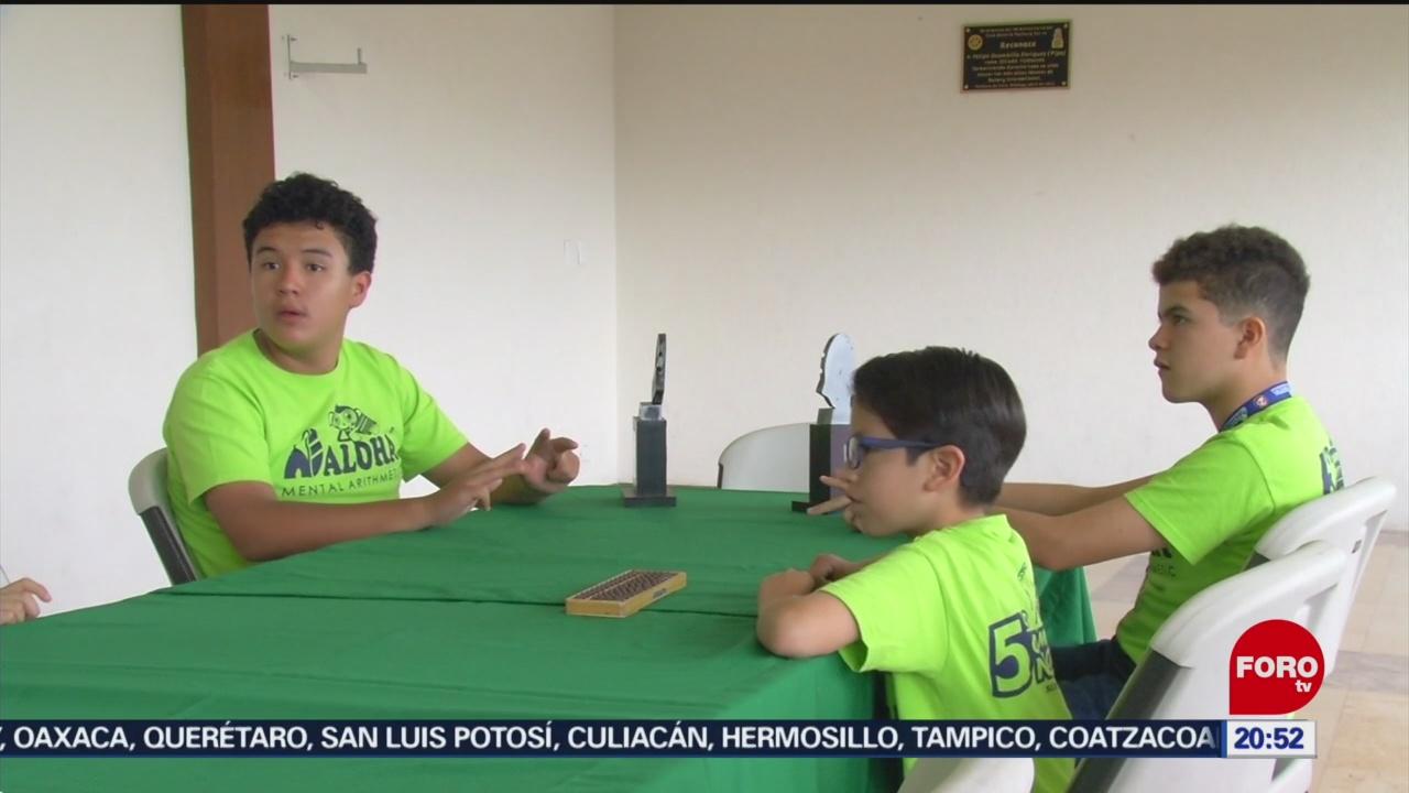 Foto: Niños Calculadora Hidalgo 15 Julio 2019