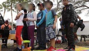 Cientos de menores edad sin compañía llegan a Tijuana