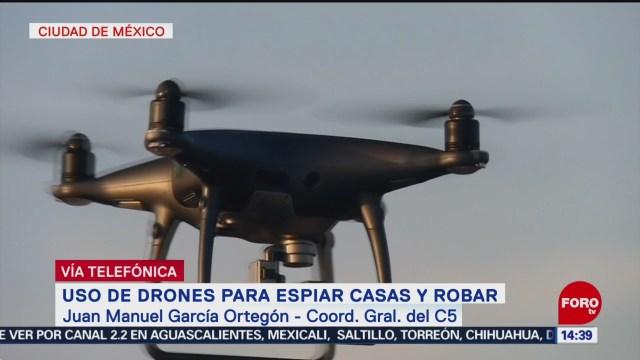 FOTO: No hay denuncias por uso de drones en Coyoacán: García Ortegó