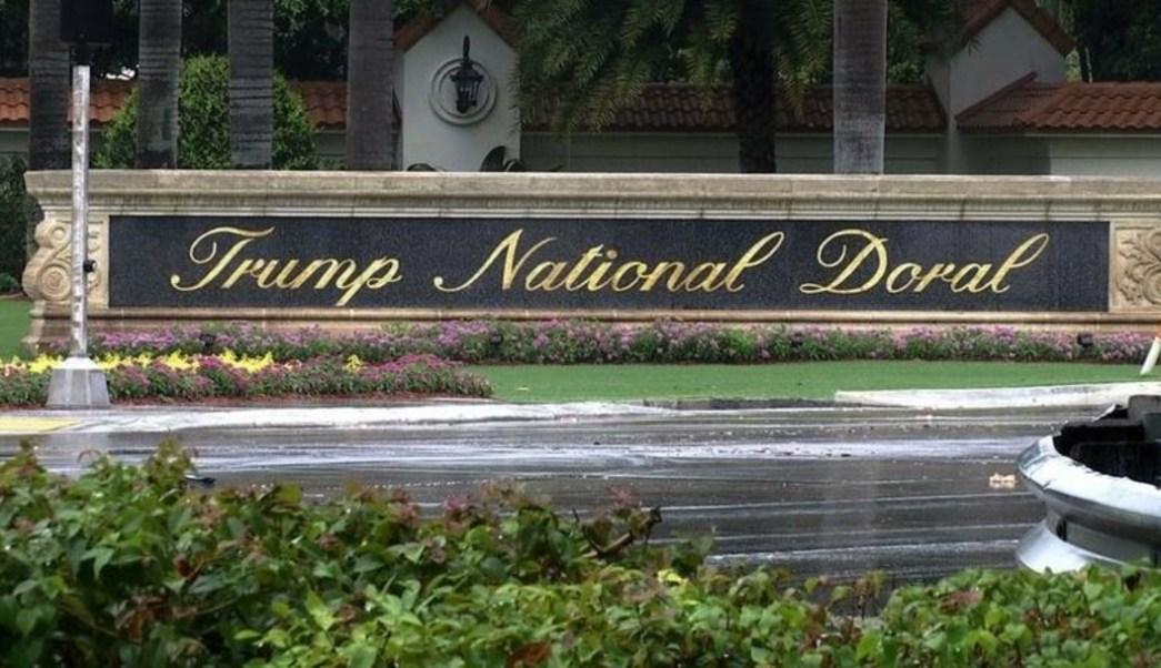 Imagen: Compañía del presidente Donald Trump informó el miércoles que canceló un torneo de golf en el que habría desnudistas como caddies, 10 de julio de 2019, (AP, archivo)