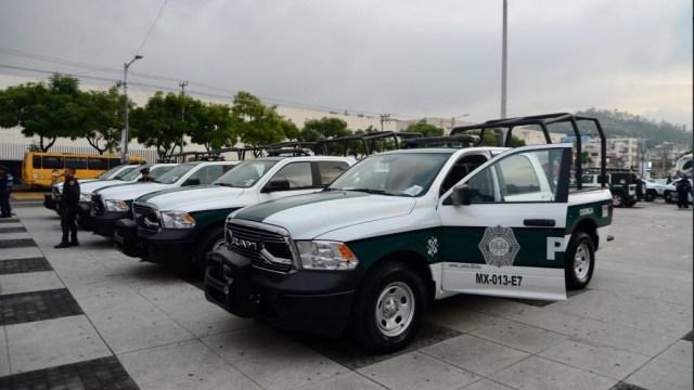 Foto: nuevas patrullas en la alcaldía Gustavo A. Madero, 11 de julio 2019. Twitter @TuAlcaldiaGAM