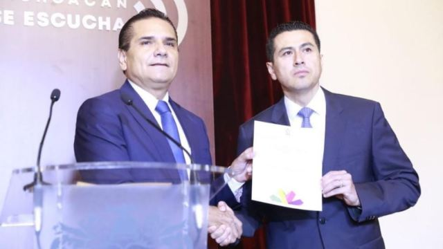 Nombran a Israel Patrón como secretario de Seguridad Pública de Michoacán