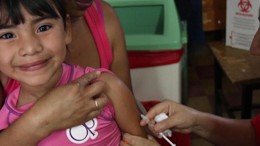FOTO OMS: Veinte millones de niños se quedan sin vacunas cada año (Organización Mundial de la Salud)