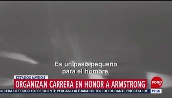 FOTO:Organizan carrera en honor a Armstrong, 20 Julio 2019