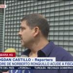 Padre de Norberto Ronquillo acudió a Fiscalía Antisecuestros de CDMX