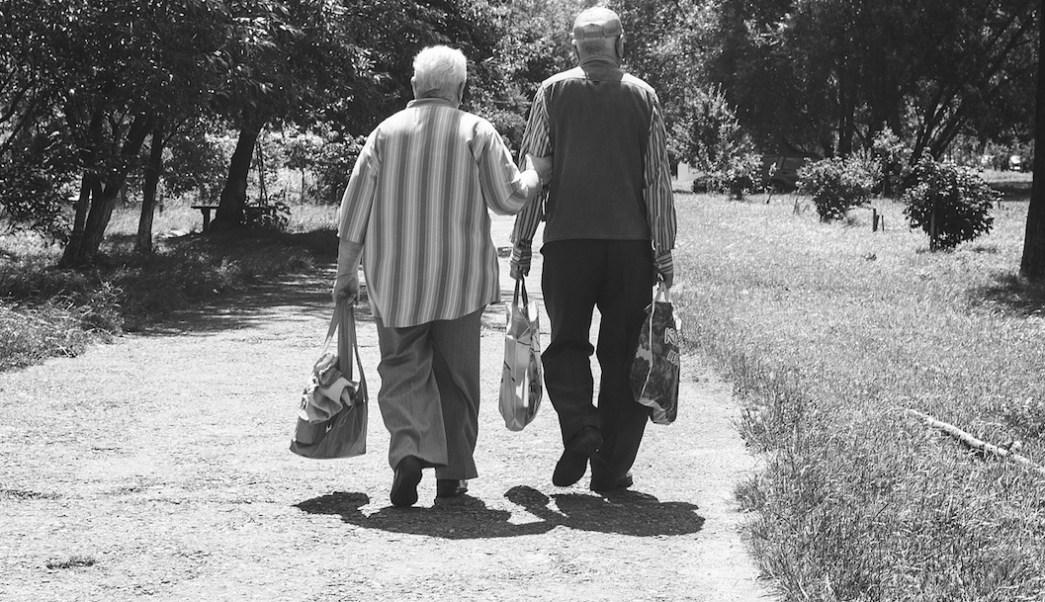 Foto Pareja Ancianos 16 Julio 2019