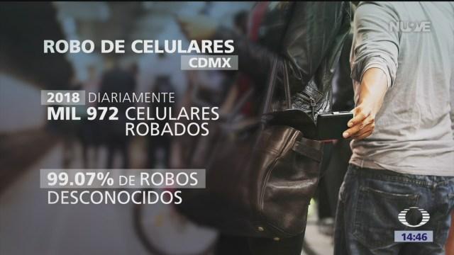 Foto: Penas contra robo de celulares en CDMX