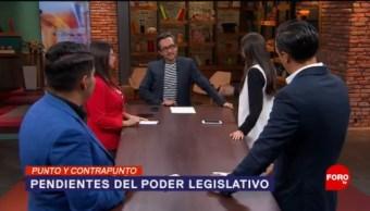 Foto: Pendientes Legislativos Próximo Periodo 19 Julio 2019