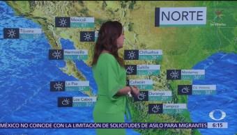 Persisten altas temperaturas en gran parte de México
