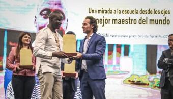Peter Tabichi mejor maestro del mundo en colombia