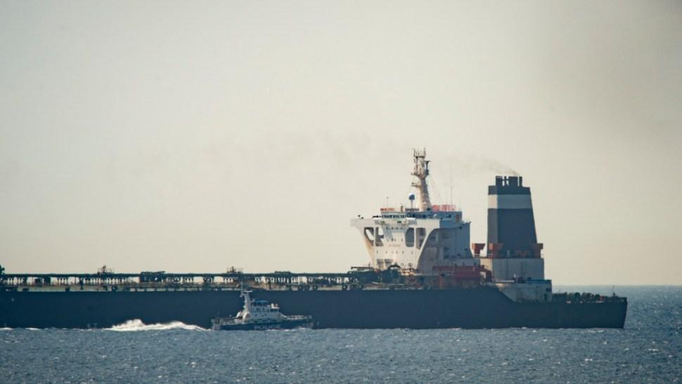 Foto: Buque petrolero iraní Grace 1, 4 de julio de 2019, Gibraltar