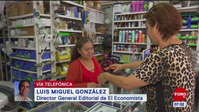 PIB crece 0.1% en segundo trimestre, reporta INEGI