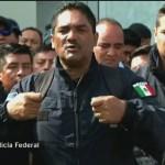 Foto: Policía Federal Durazo Negociar 5 Julio 2019