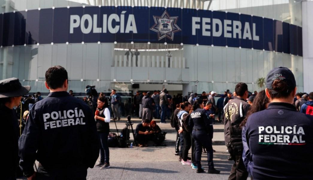 Foto: Policías federales en el centro de mando en Iztapalapa, 4 de julio de 2019, Ciudad de México