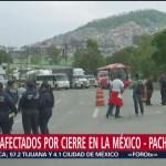 Foto: Policías federales negocian paso de cinco minutos en la México-Pachuca