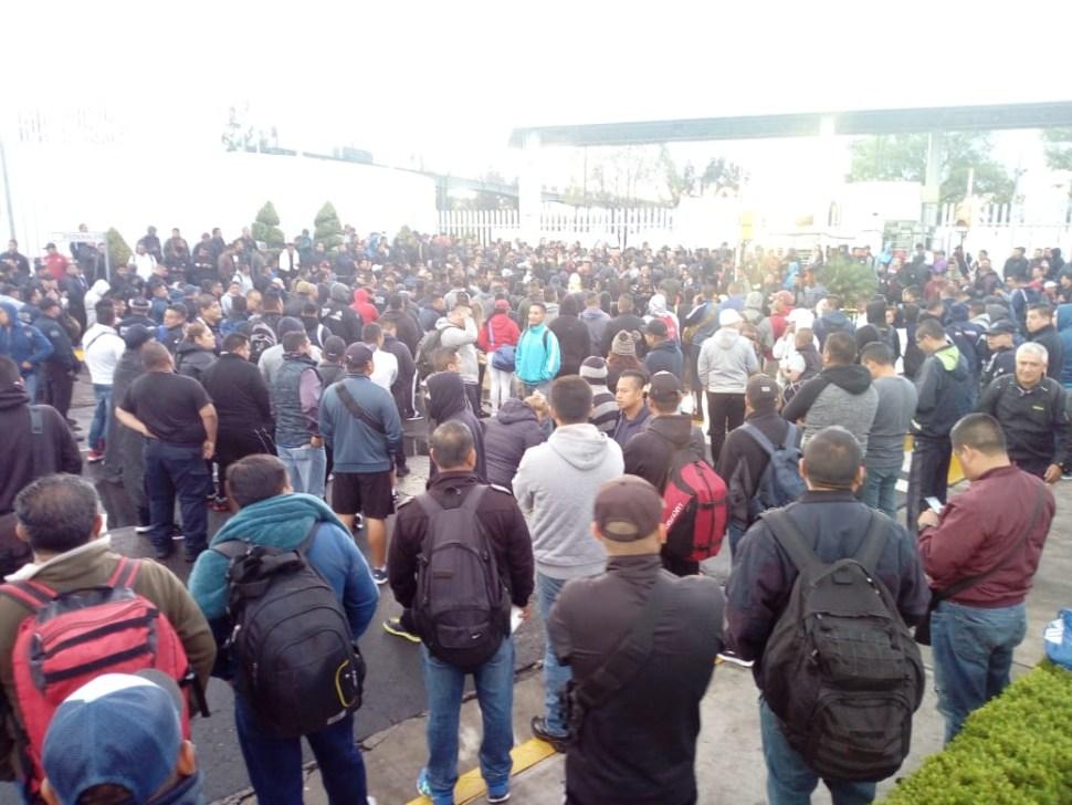 Foto Policías federales protestan asignación a Guardia Nacional 3 julio 2019