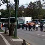 Foto Policías federales bloquean avenida Constituyentes, CDMX 3 julio 2019
