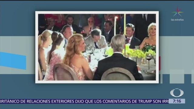 Políticos y ministros asistieron a boda de la hija de Juan Collado