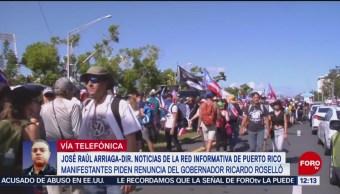 Por qué exigen la renuncia de Ricardo Rosselló en Puerto Rico
