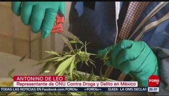 Foto: Secretaría Salud Presenta Informe Mundial Drogas 2019 17 Julio 2019