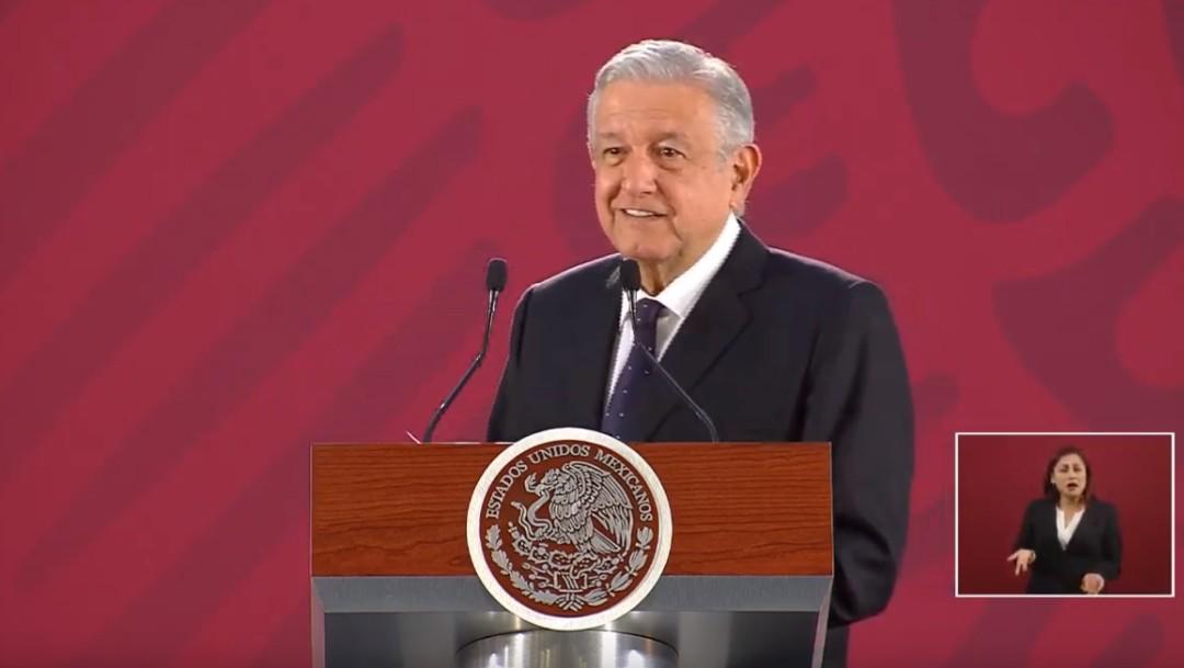 Foto: El presidente López Obrador en conferencia de prensa, 15 de julio de 2019, Ciudad de México