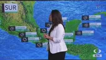 Prevén chubascos y lluvias fuertes en gran parte de México