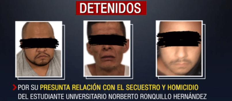 Foto: Hasta el momento hay cuatro detenidos relacionados con el plagio del joven identificados, 23 de julio de 2019, (Noticieros Televisa)