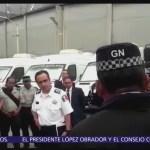 Protestan policías federales asignados a la Guardia Nacional