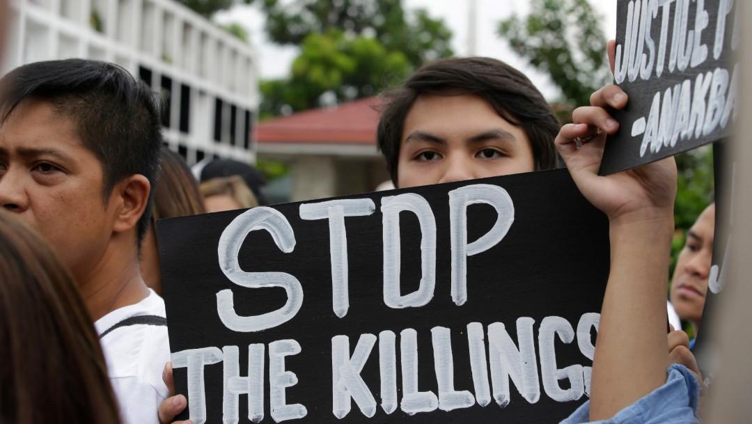 Foto: Protestas en Filipinas por muertes durante lucha antidrogas