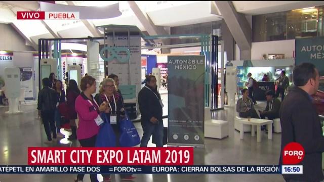 FOTO: Realizan Smart City Expo Latam 2019 en Puebla