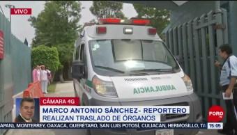 FOTO: Realizan traslado de corazón al Centro Médico La Raza, 20 Julio 2019