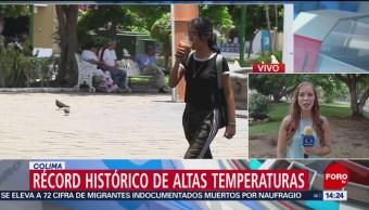 FOTO: Récord histórico de calor en Colima, 14 Julio 2019
