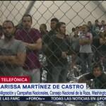 FOTO: Redadas provocan divisiones entre habitantes de EU: Clarissa Martínez de Castro, 14 Julio 2019