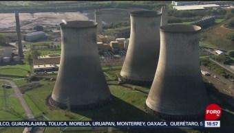 FOTO; Reino Unido planea estrategias para combatir el cambio climático