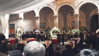 Foto Rendirán homenaje a funcionarios muertos en accidente aéreo en Michoacán 25 julio 2019