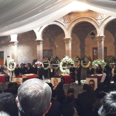 Rendirán homenaje a funcionarios que murieron en accidente aéreo en Michoacán