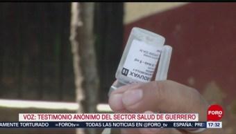 FOTO: Reportan desabasto de vacunas en Guerrero
