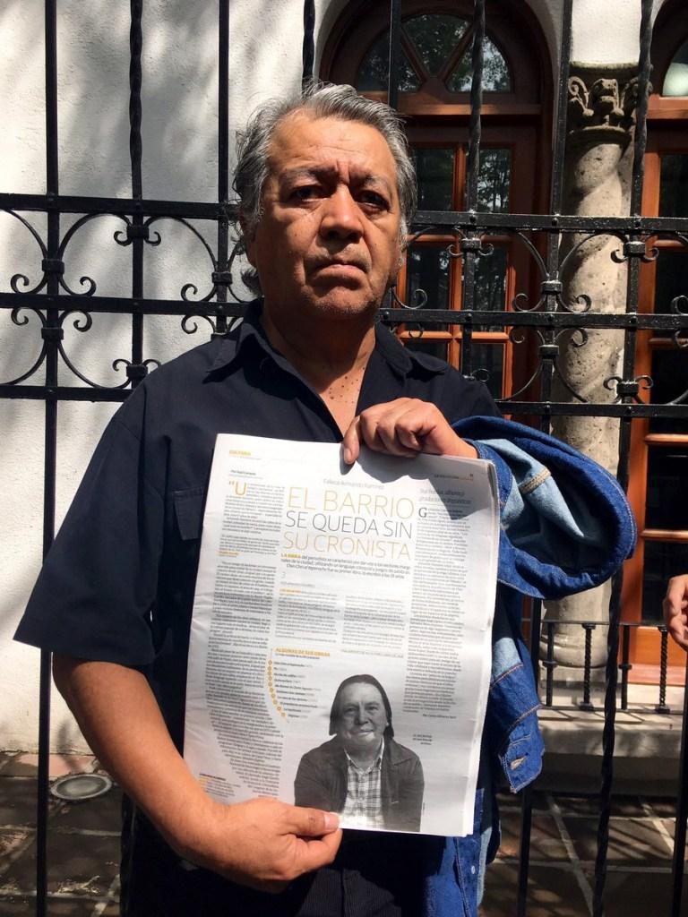 Foto Homenaje a Armando Ramírez en Centro de Creación Literaria 11 julio 2019