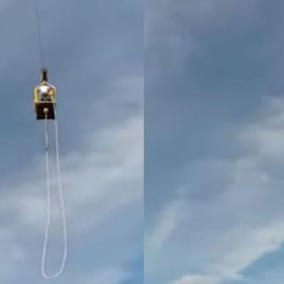 Video: Sobrevive a caída de 'bungee' de 92 metros